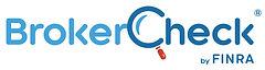 BrokerCheck logo and link to the BrokerCheck website