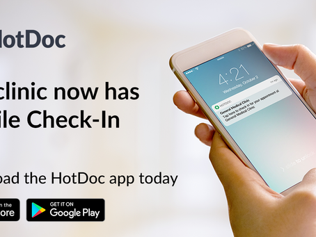 Skip the queue, check in on your smartphone via HotDoc