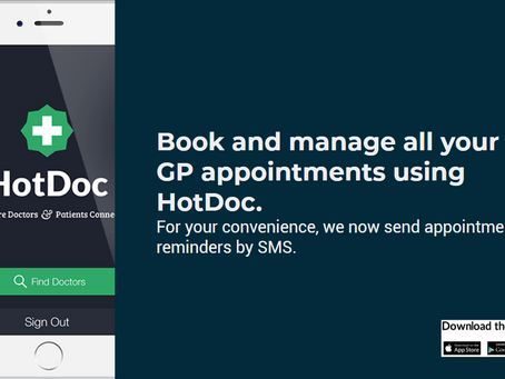 Save Time and Book Online with HotDoc