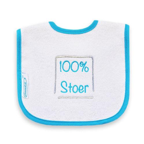 "Slabje ""100% Stoer (blauw)"""