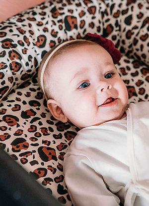 Babynest Leopard natural