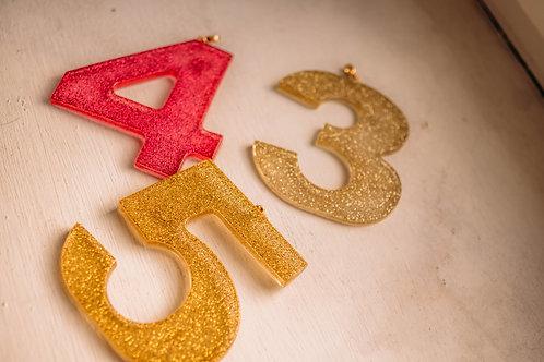 Bedels - cijfers/feestnummers