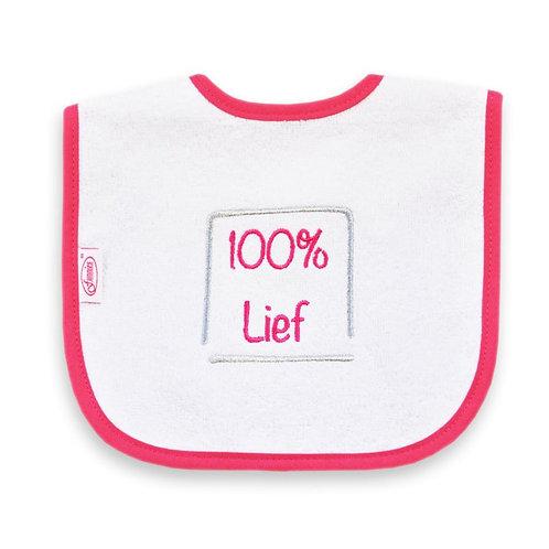 "Slab ""100% Lief (roze)"""