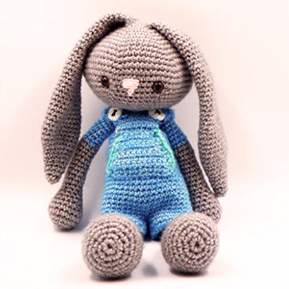 Knuffel konijn tuinbroek
