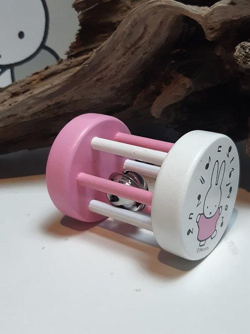 Nijntje rammelaar 'Roze'