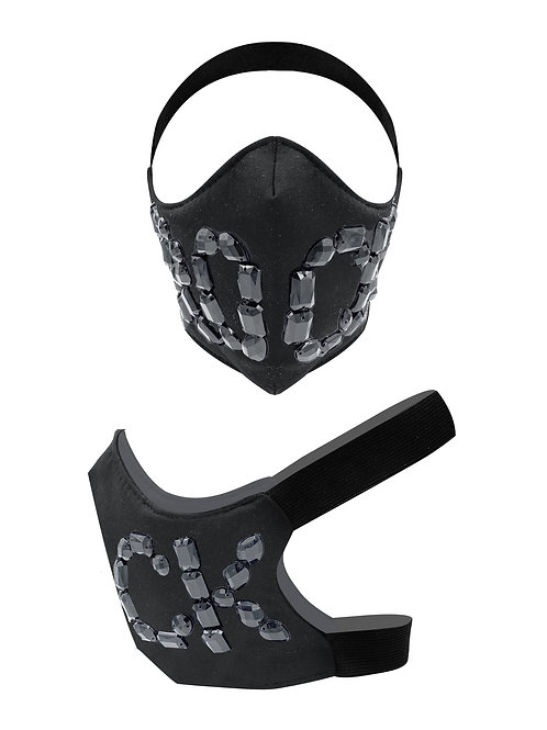 FACETED STRONG MASK . Masque