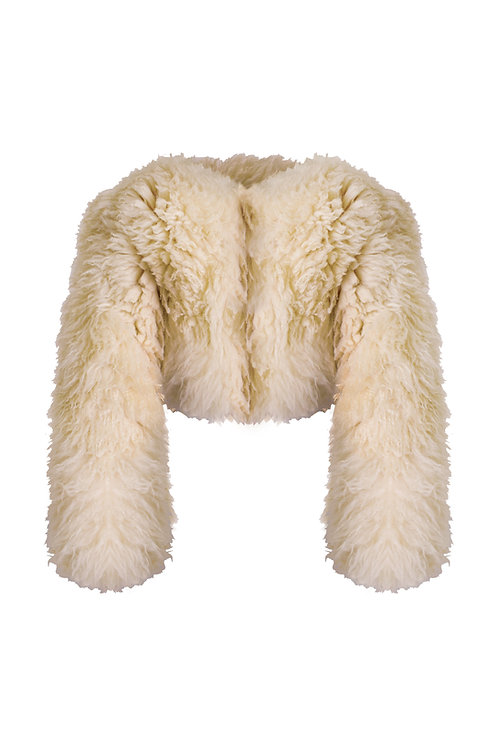 BESTIALE . Sheep fur