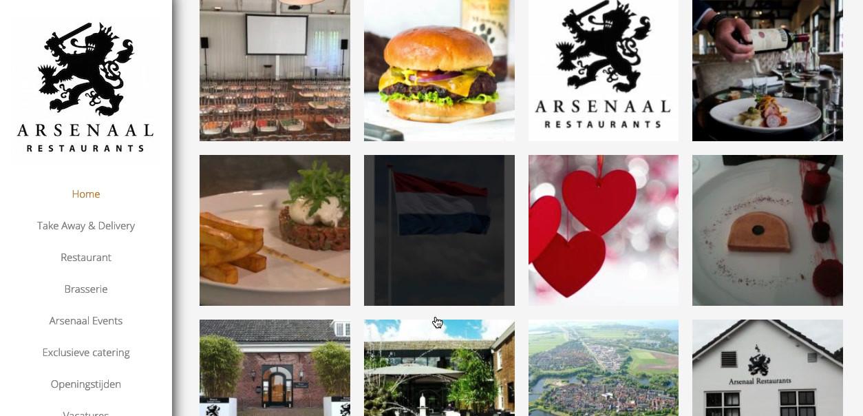 arsenaal restaurants Jan Willem en Erika