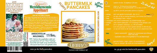 fluffy buttermilk pancakes Granny's rece