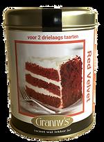 red velvet cake mix Granny's makkelijk recept snel wereldberoemde appeltaart rein murre.pn
