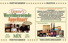 recept Granny's Wereldberoemde Appeltaar