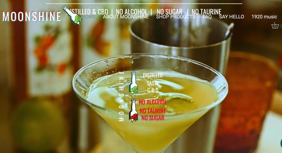 moonshine distilled non alcoholic taurine free