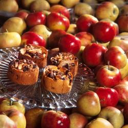 Grannys appeltaart eenpersoons mini rozijen noten recept