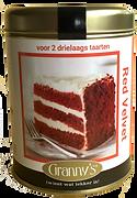 red velvet Granny's recept oma ouderwets