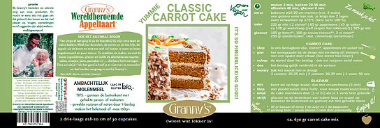 carrotcake Granny's recept oma ouderwets