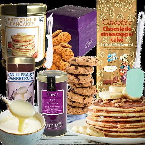 zomerbox 2021 grannys appeltaart gluten vrij lactosevrij rozenvcake fluffy buttermilk panc