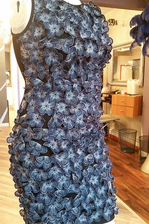 SD Designer 3D Floral Dress