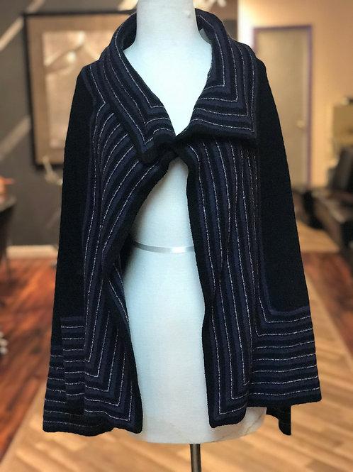 stretch  sweater cardigan