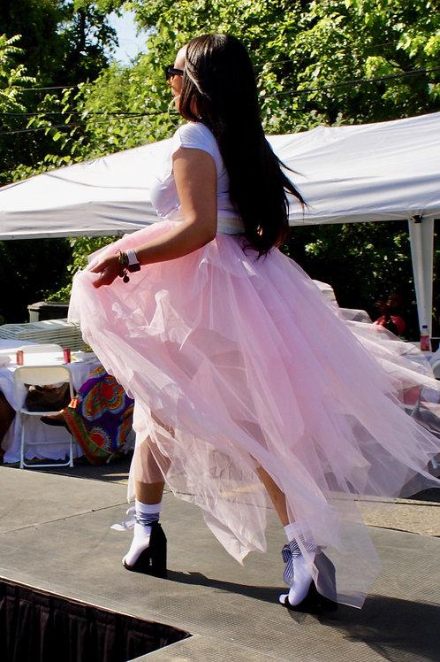 Pink tool skirt