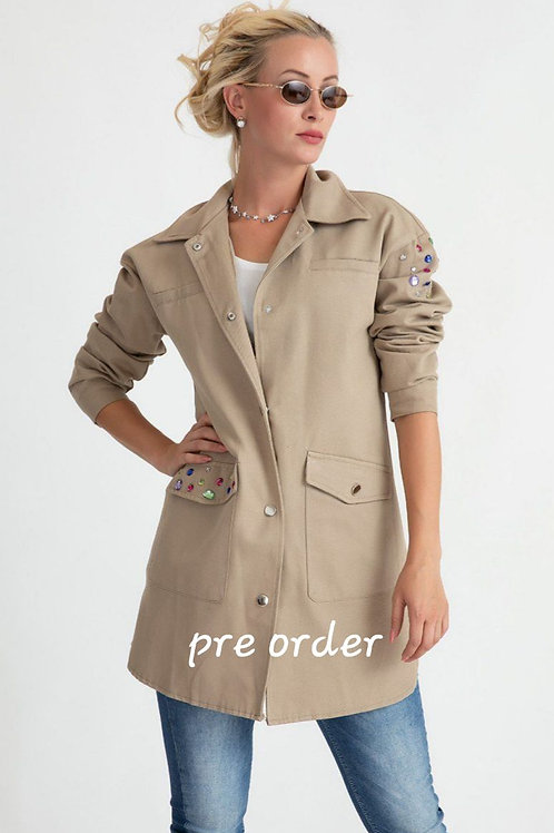 Button trench