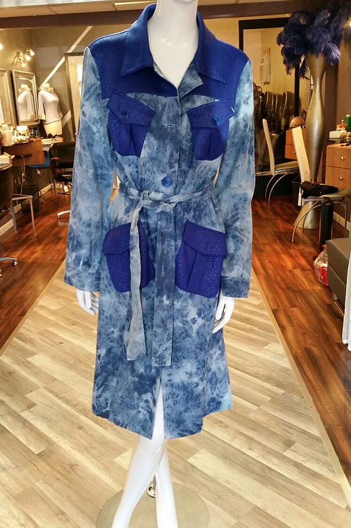 SD Denim Blue Trim Duster