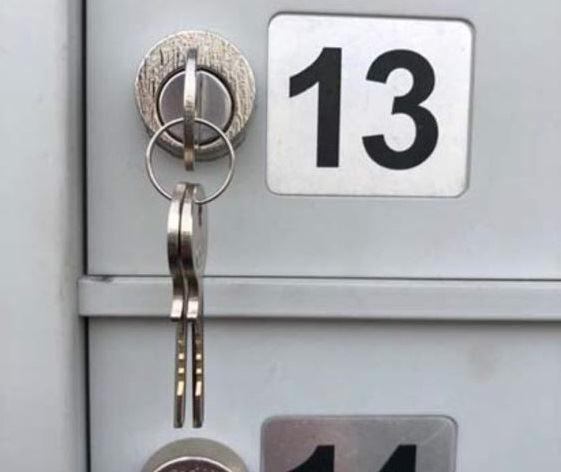 Mailbox Key