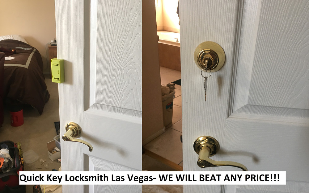 add lock to door