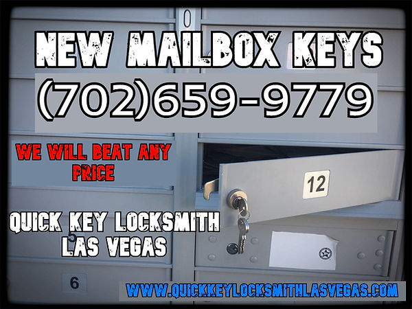 new mailbox key