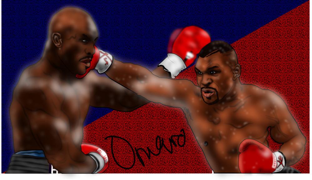 Mike Tyson vs Evander Hollyfield, 1996.j