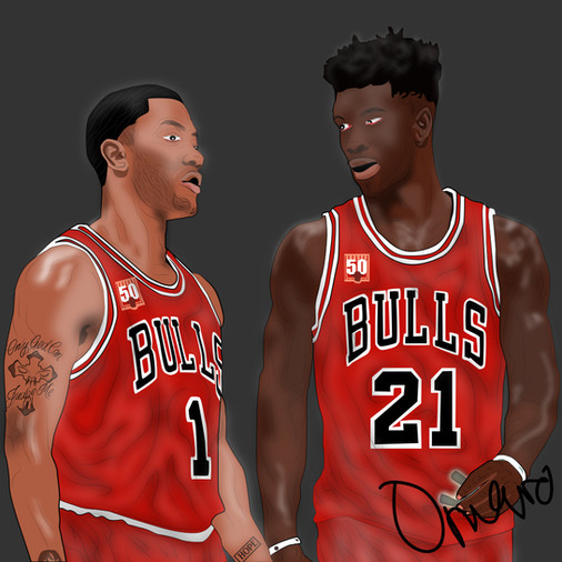 Derrick Rose, Jimmy Butler Throwback.jpg