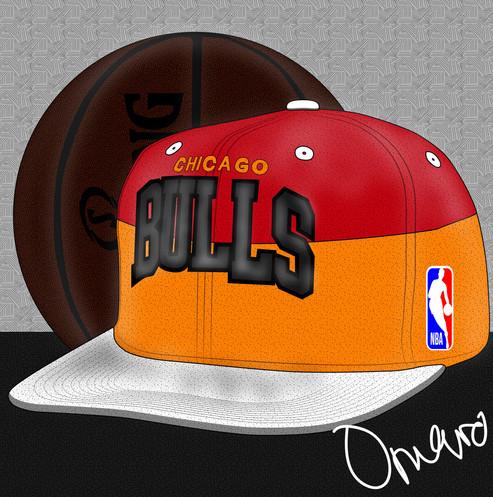 Chicago Bulls Mitchell & Ness Snapback 3