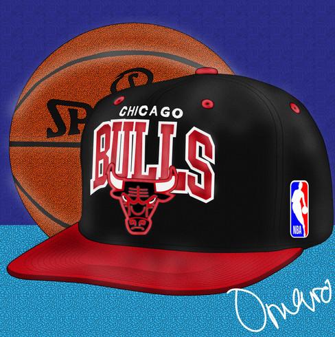 Chicago Bulls Mitchell & Ness Snapback 1