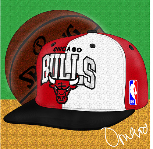 Chicago Bulls Mitchell & Ness Snapback 2