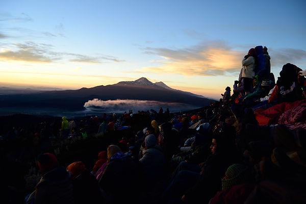 Monte Tlaloc. Montaña Fantasma