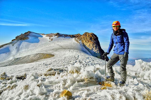Iztaccihuatl La Panza Glaciar