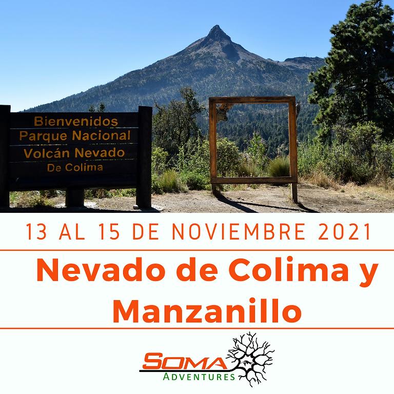 Nevado de Colima y Manzanillo