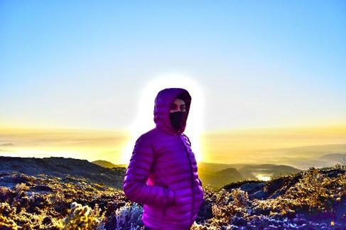 Amanecer en el monte Tlaloc