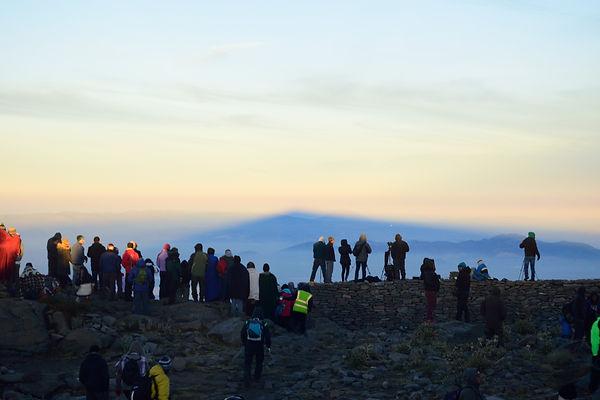 Montaña Fantasma. Monte Tláloc