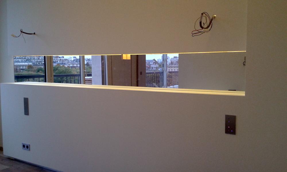 Miroir Fond De Niche