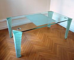 Plateau en verre