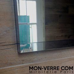 Miroir Sur Mesure Encadrement Inox