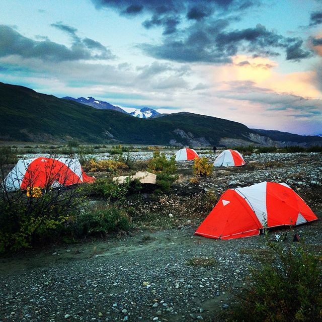 Camping in the Yukon, Alsek