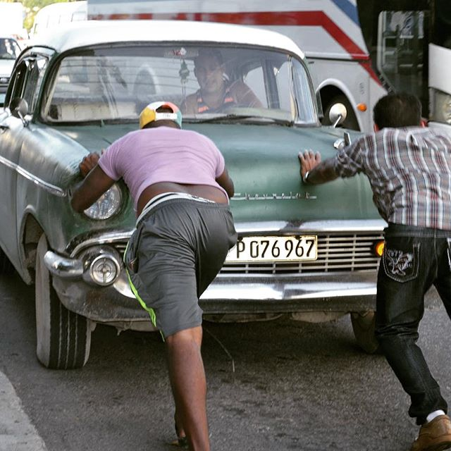 Push-start #cubanlife