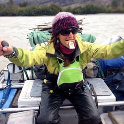Rowing river guide, Alsek River