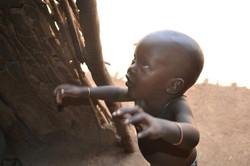 Maasai child, Kenya