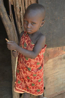 Young Maasai girl, Kenya