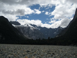 Patagonia hanging glaciers