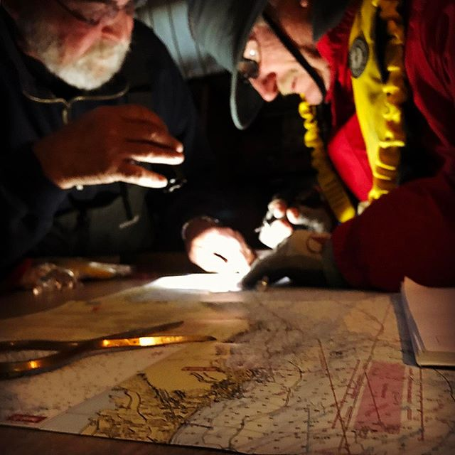 Navigational chart plotting