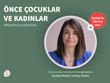 EŞİTLİK'TE SÖZ'ÜM VAR! - Müjde Tozbey Erden