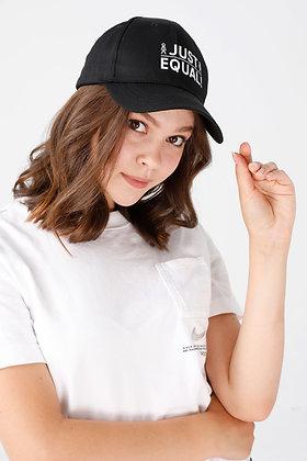 Just Equal! Unisex Siyah Şapka